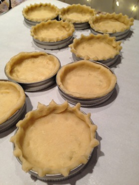 mason jar pie crust
